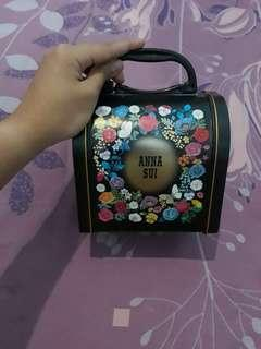 Anna Sui Makeup Box/Beauty Case/Tempat Tas Makeup Kosmetik