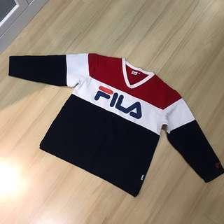 Authentic Fila sweatshirt