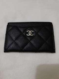 Chanel VIP gift - repriced - name card holder, preloved, like new!