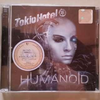 Tokio Hotel Humanoid Deluxe CD + DVD