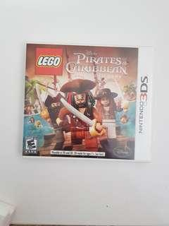 3ds game pirates caribbean lego
