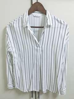 🚚 NET線條襯衫