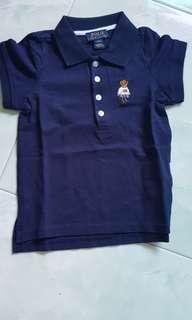 🚚 Brand new authentic Ralph Lauren Polo Tee bear 3T years old
