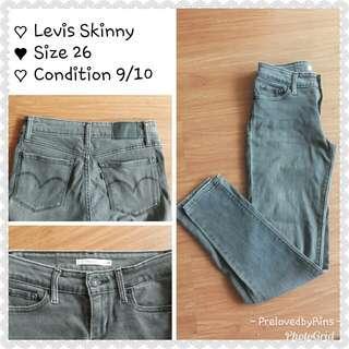 Levis Skinny