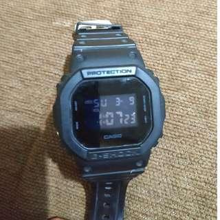 Casio G Shock DW 5600BB Original