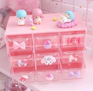 化妝品首飾儲物盒/收納盒