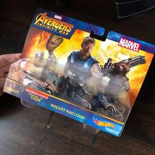 Hotwheels Avengers Infinity War