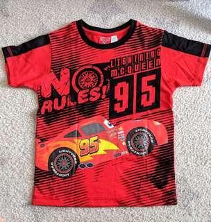 🚚 Disney Cars Lightning Mcqueen Boys Shirt