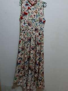 Chinesse Flower Dress
