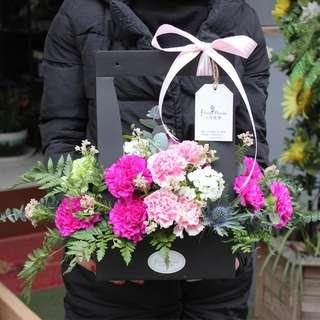 🚚 Self-assembled Packaging for flowers