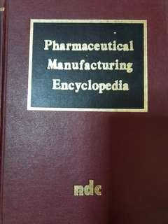 Pharmaceutical Manufacturing Encyclopedia Book