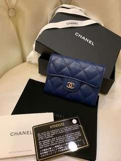 Chanel 雙層零錢卡包 全新 27開  不議價