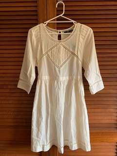 BNWT Sportsgirl Creamy lace dress size 14