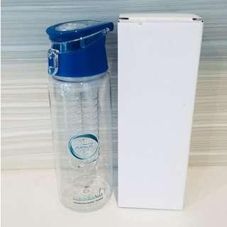 (NEW & UNUSED) Fruit Infuser Juice Sport Bottle with Filter Tube 760ml