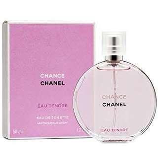 Chanel Chance pink perfume eu de toilette - 100mls