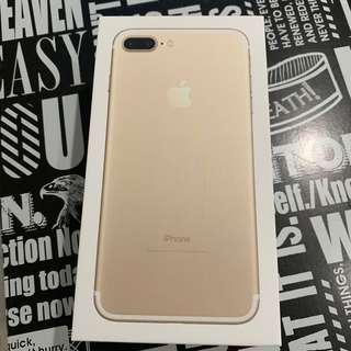 iPhone 7plus empty box