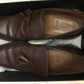 Authentjc Bally Dark Brown shoes