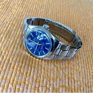 Vintage Blue Dial Rolex Oyster Perpetual Date Ref. 1500