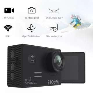 🚚 🆕🆒 SJCAM SJ5000x Elite WiFi 4K 24fps 2K30fps Gyro Sports DV 2.0 LCD NTK96660 Diving 30m Waterproof Action Original Camera