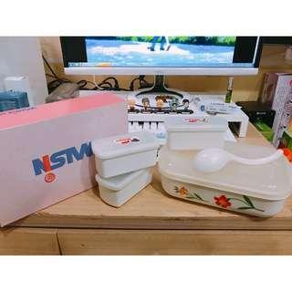 🚚 華新麗華股東紀念品 3+1便當保鮮盒