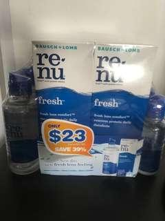 🚚 Bausch + Lomb Renu Contact Lens Solution