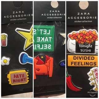 ZARA Phone and Bag Stickers