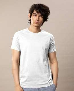 Pull and bear white t shirt