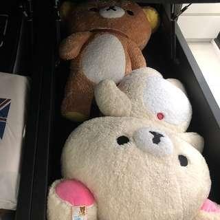 🚚 Super Huge Rilakkuma White