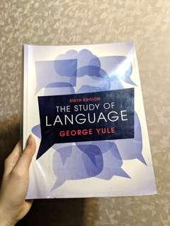 語言學用書 The Study Of Language 6th edition  Cambridge出版