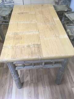 Table竹枱