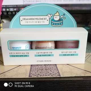 Cream Minimi kit set