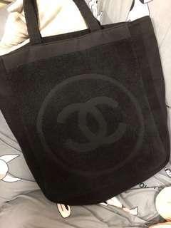 Chanel Coco towel tote bag