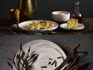 Brand New Luzerne 6 Round Coupe Plates Chinaware