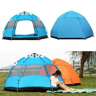 5-8 People Waterproof Automatic Outdoor Instant Pop Up Tent Camping