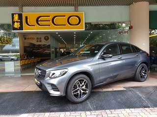 Mercedes-Benz GLC-Class Coupe GLC250 AMG Line 4MATIC (A)