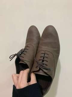 無印良品女裝革靴