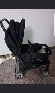 🚚 Dudu Double stroller