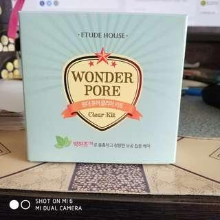 Etude House Wonder Pore Clear Kit set