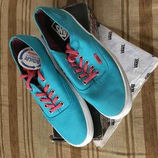 vans authentic lite poly speckle scuba blue