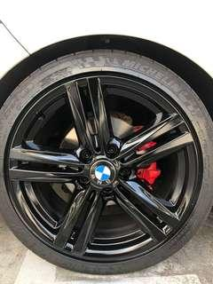 Rims and calipers spray promo