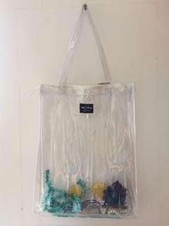 Transparent Tote Bag Totebag Transparan