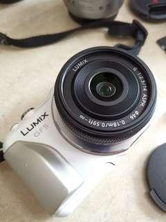 Camera- Panasonic Lumix gf5 with lens