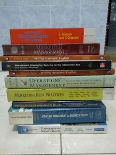 Used Textbooks (list in description)