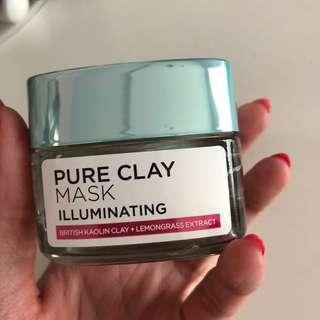 Loreal Pure Clay Mask (Illuminating)