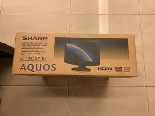 Sharp LCD 19 inch Monitor - Brand NEW #DEC30
