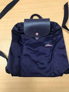 100% NEW Longchamp le pliage backpack 背包 背囊 紫 purple