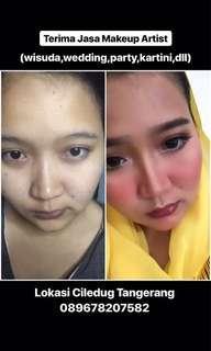jasa makeup artist mua tangerang jasa rias wisuda, wedding, party dll.