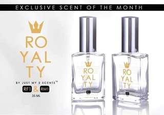 Jm2s royalty scent