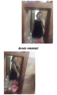 Blouse black forever21
