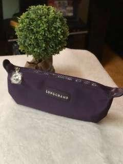 Longchamp Pouch (Dark Violet)
